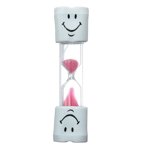 Shopping Time!Toothbrush Timer Hourglass Kids Smiley Sand Egg 3 Minutes 1pcs(China (Mainland))