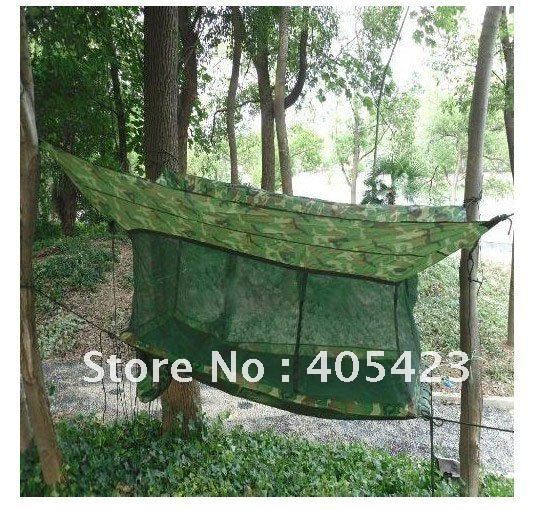 Гаджет  free shipping!Outdoor  hammock,Army Outdoor Camping Hammock Tent + Bed + Mosquito Nets,outdoor,Leisure,Siesta bed,1pc None Мебель