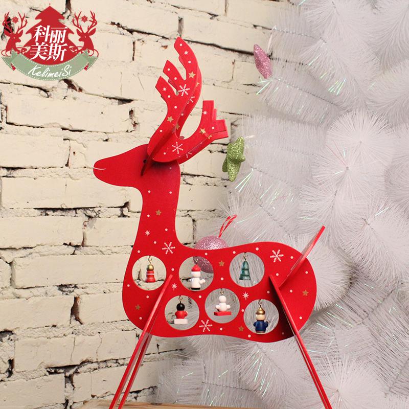 2015 New Arrival Creative Christmas Decoration Christmas Gift Wood Christmas Home Decoration