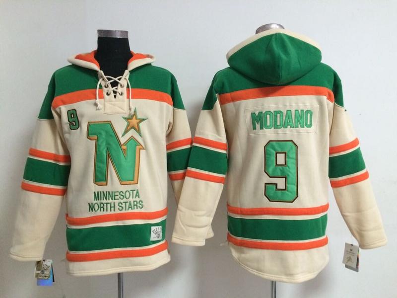 Hot Sale Cheap Dallas Stars Mens Ice Hockey Hoodies #9 Mike Modano Beige Hoodies Size M-2XL 341<br><br>Aliexpress