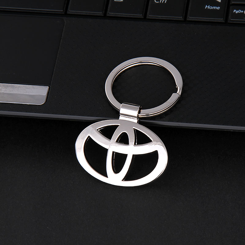HOT 2016 Car key ring key chain keychain for Volkswagen Toyota Honda Hyundai BMW Audi Opel Mercedes Nissan Renault Volvo Peugeot(China (Mainland))