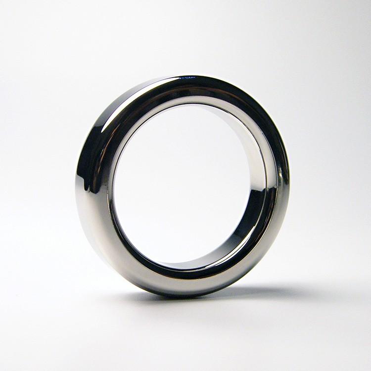 Male Metal Cock Ring 9mm Thicken Stainless steel Penis Delay ring Inner diameter 38 41 44 47mm Optional1