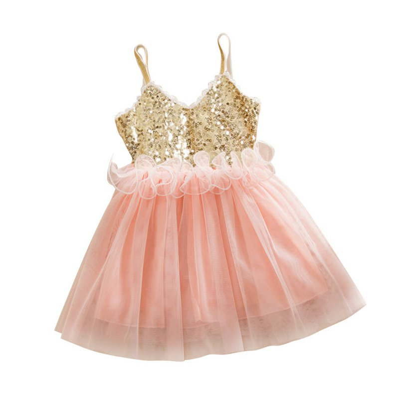 Summer 2016 Girl Dress Sequin Baby Girl Clothes Princess Tutu Children Dresses kids Clothes vestidos infantis New Arrival(China (Mainland))