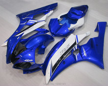 Buy Hot Sales,For Yamaha YZFR6 2006-2007 Plastic Fairing YZF R6 YZF-R6 06-07 blue black white Fairing body parts (Injection molding) for $360.05 in AliExpress store