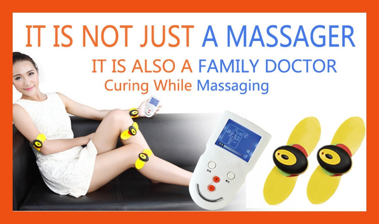 Battery operated face massager electronic body massager best back pain reliever(China (Mainland))