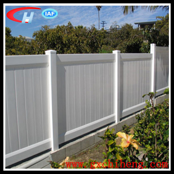 Low Price Hot Sale Garden Privacy PVC Fences(China (Mainland))