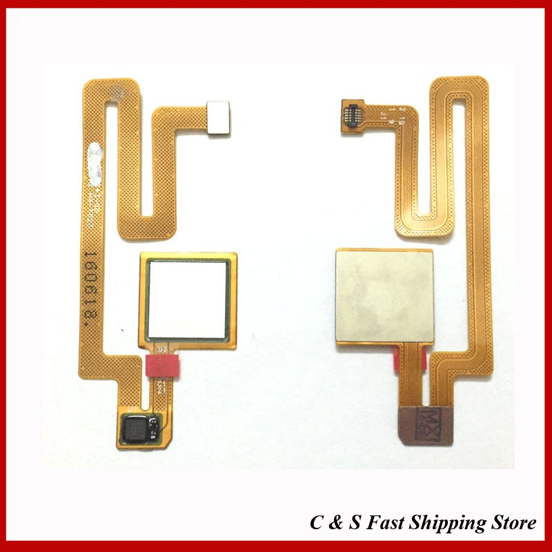 New Original Fingerprint Sensor Home Return Key Menu Button Flex Cable For Xiaomi Max Mi Max Replacement Parts Quality Assurance