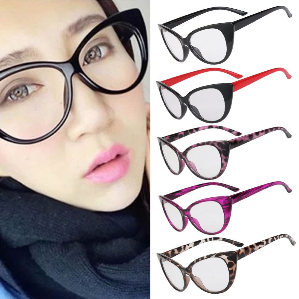 Cat Eye Frame Glasses Philippines : Hot Fashion Retro Sexy Women Eyeglasses Frame Cat Eye ...