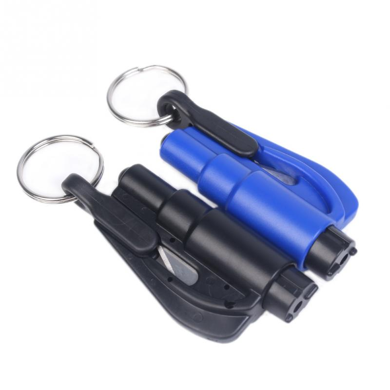 Авто безопасность аварийный молоток ремень стеклобой брелок побег инструменты новый