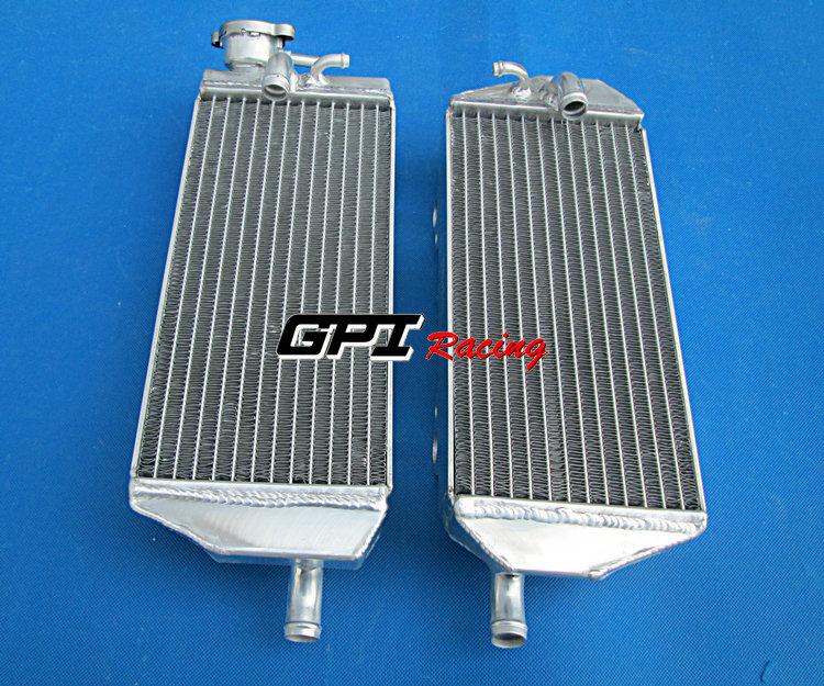 FIT For Gas Gas EC250 EC/XC/DE/MC 200/250/300 2001-2006 2002 03 04 05 ALUMINUM RADIATOR(China (Mainland))