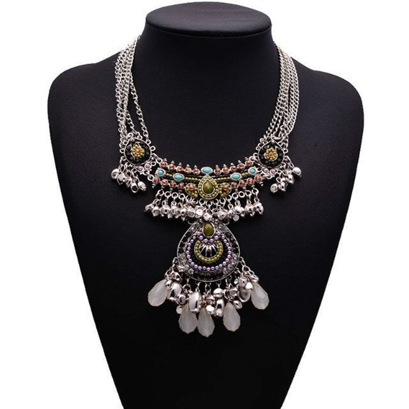 2015 NEW Design Fashion Necklace Gorgeous Crystal Fashion ...