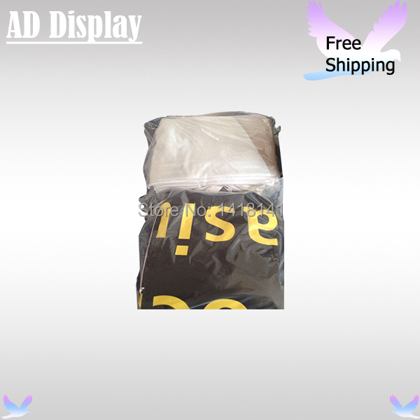 High Quality Tension Fabric Display Only Single Side Banner Printing For 10ft*7.5ft Straight Or Curve Shape(China (Mainland))