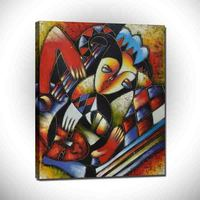 World famous paintings Picasso painting Picasso's abstract painting Picasso abstract woman Hand-painting wholesale PFB-001