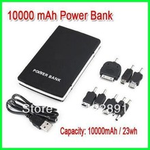 10000mA Real Capacity External Batter+Portable Power Bank for Mobile Phones+Mobile Battery Backup+Mobile Charger Free Shipping  (China (Mainland))