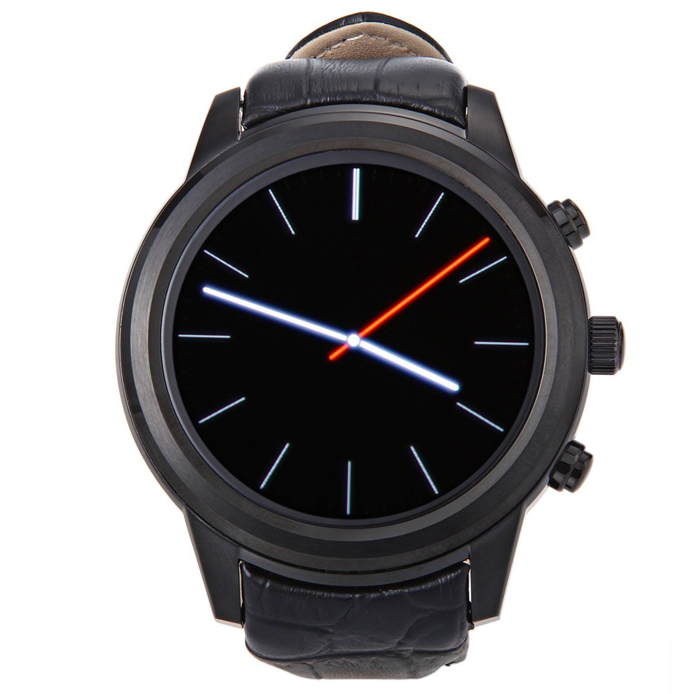 FINOW X5 1.4 Inch Round Smartwatch Android 4.4 MTK6572 Mobile Wristwatch Wifi Music BT 512M+4G Heart Rate Monitor GPS Watch(China (Mainland))