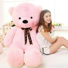 [120cm 5 Color] giant teddy bear stuffed plush toys valentine gift Factory Price CA020(China (Mainland))