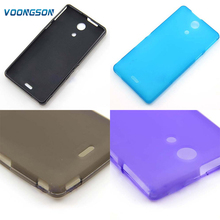Buy VOONGSON TPU Silicone Gel Case Cover Sony Xperia ZR C5502 C5503 M36h Cell Phone Protective Cover Bags matte soft for $1.49 in AliExpress store
