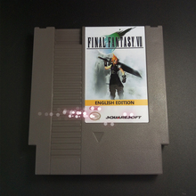 Top Qualität 72 pins 8bit Spiel Patrone-FINAL FANTASY VII Englisch Sprache FINAL FANTASY 7(China (Mainland))
