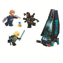 Novos super-heróis vingadores 4 caber marvel avengers legoings 76131 76124 76125 76126 final figuras blocos de construção tijolos brinquedo presentes(China)
