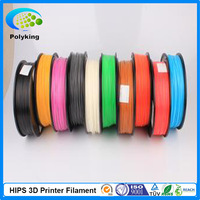 3D Printer Filament HIPS 1.75/3.00mm for Makerbot Reprap Mendel 1kg(2.2lb) Multicolor