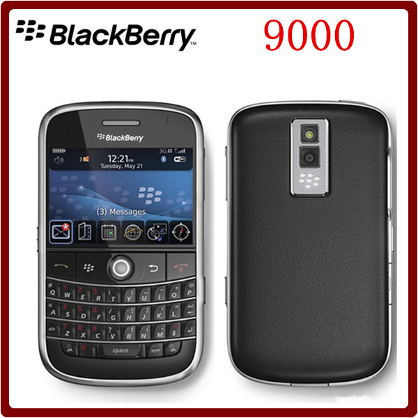 9000 Original Unlocked Blackberry Bold 9000 GPS WIFI 3G 1350mAh Refurbished Cell Phone Free Shipping(China (Mainland))