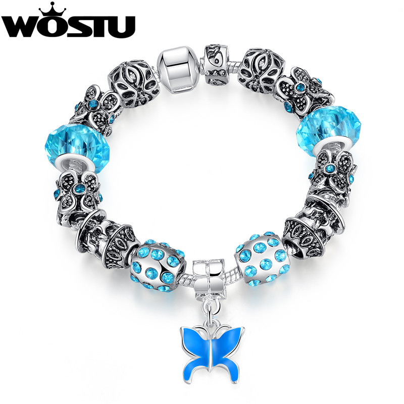 Hot Sale Style 925 Silver Bead Charm Bracelets For Women DIY Sterling Original European Jewelry Birthday Gift(China (Mainland))