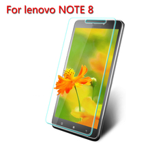 Amazing top selling 2.5D 0.3mm Anti-Explosion Tempered Glass Screen Protector for Lenovo note 8 Cover Guard protective film
