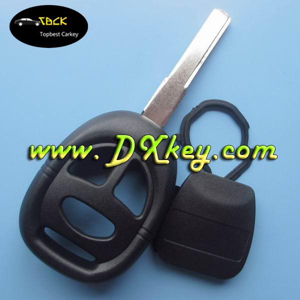 3 button car key shell / car key cover for saab key with 2 track