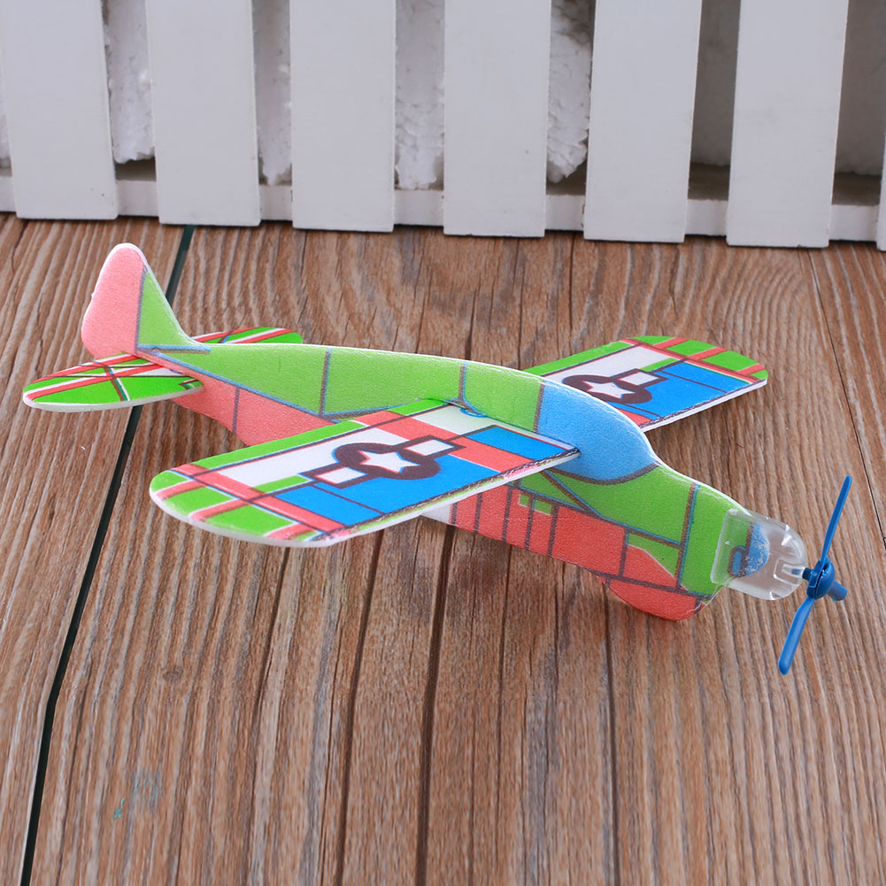 3D UFO G3 Foam Airplanes Sky Raider Glider Flying Little one Kids Youngsters Boy Toy