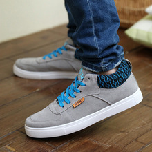 wholesale New style 2015 Flat With Canvas Shoes For Men Spring Breathable Men s Shoes Adult