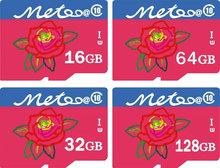 Metoo@ Ultra High Speed Real Capacity pass h2tewt  Micro original TF SD Card 16GB 32GB 64GB 128GB Class 10 Memory Card UHS1 300X(China (Mainland))