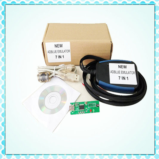 Adblue Emulator 7IN1 Emulation/Truck Remove Tool , MAN, Scania, Iveco, DAF, Volvo Renault with High QUality Adblue(China (Mainland))