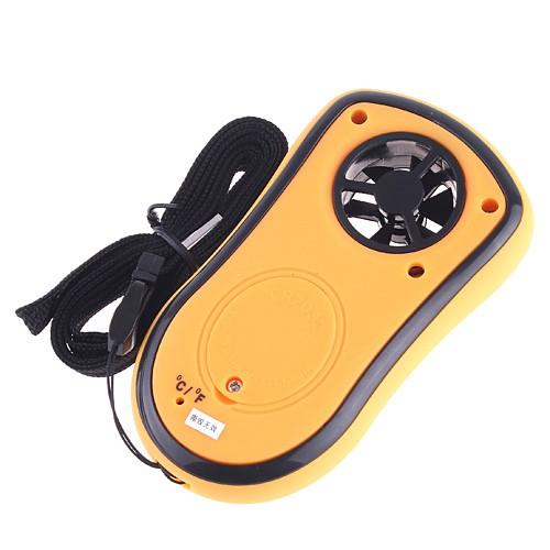 Mini Digital Anemometer Pressure Sensor LED Wind Speed test Measuring Instruments tachometer windmeter anemometro speed square(China (Mainland))