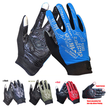 UPF 50 Breathable Lightweight Spring And Summer Touch Screen Sport Glove For Climbing Cycling Fishing Golf Running Bike