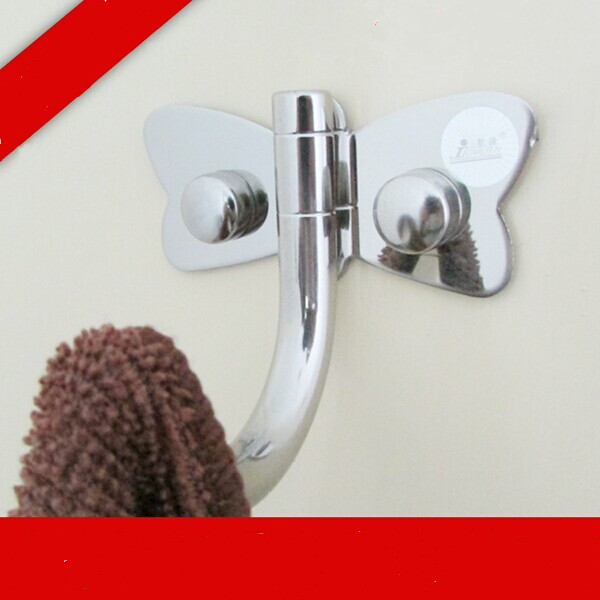 Stainless Steel Single Hooks, Bright Clothes Bag ,Cap Wall Hooks,Washroom,Kichen ,Lavatories For Home Decorate Hooks  YG13<br><br>Aliexpress