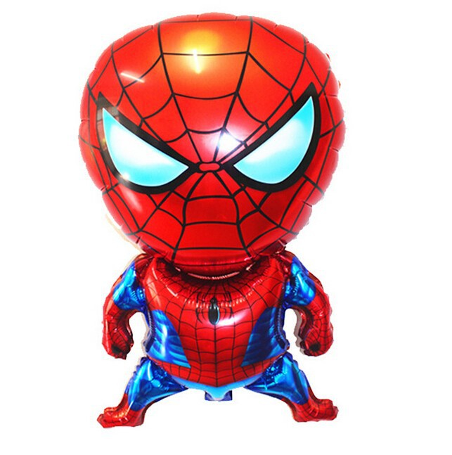 Spider-Man Cold Birthday Foil Inflatable Balloons Party Decoration Air Balloon Children's Gifts(China (Mainland))
