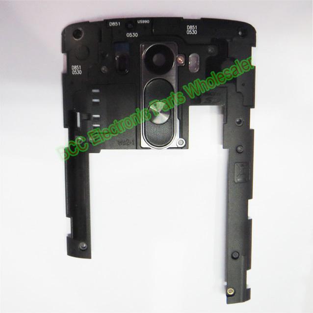 Original For LG G3 D855 D857 D858 D859 D850 D851 white black Gold back rear inner frame cover housing + camera lens +tracking