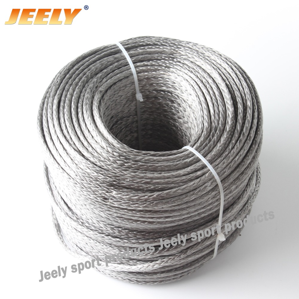 Free Shipping Best Quality 3mm 300M 12 Weaves 2000lbs Towing Winch Rope Dyneema(China (Mainland))