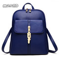 MIWIND Women Bag Hotsale Backpack Women Mochila Feminina Leather Backpack Free Shipping School Bags Candy Color