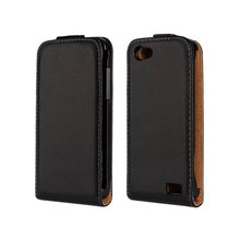 High Quality Vertical Leather Flip Case For HTC ONE V T320E Magnetic Cases Black Cover(China (Mainland))
