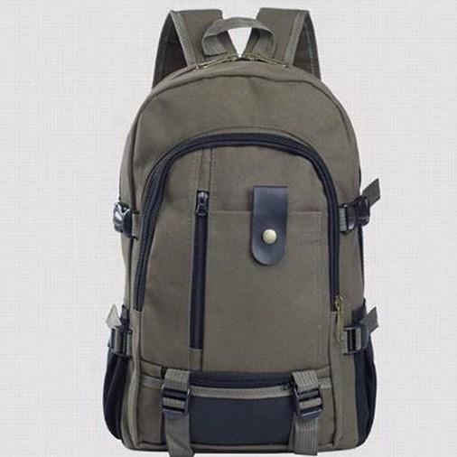 Мода спортивные мужские холст рюкзаки школьный колледжа средней школы для подростков ...