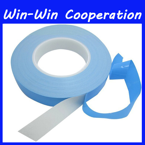 45mm x25m 0.2mm thickness universal Double Sided Thermal Conductive Adhesive tape thermal tape Transfer Tape for PCB Heatsink(China (Mainland))