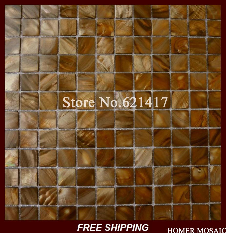 dyed color shell mosaic tiles, bathroom mosaic, kitchen backsplash mosaic tiles<br>