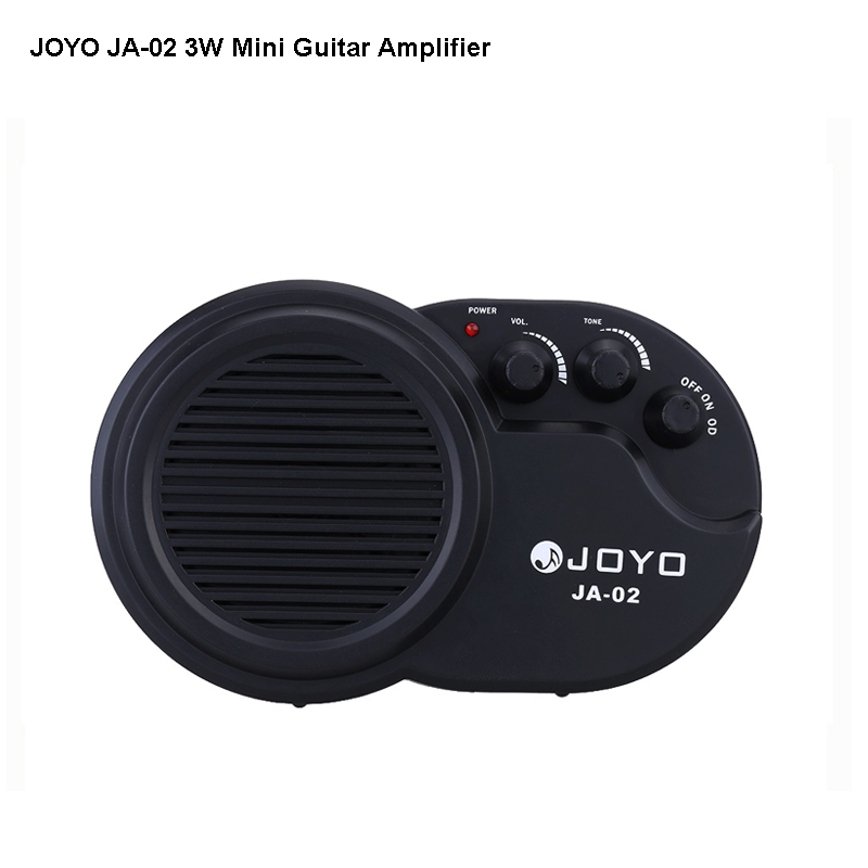 JOYO JA-02 Mini Guitar Amplifier 3w instruments guitarra Amp Speaker with Volume Tone Clean Distortion Effects free shipping(China (Mainland))