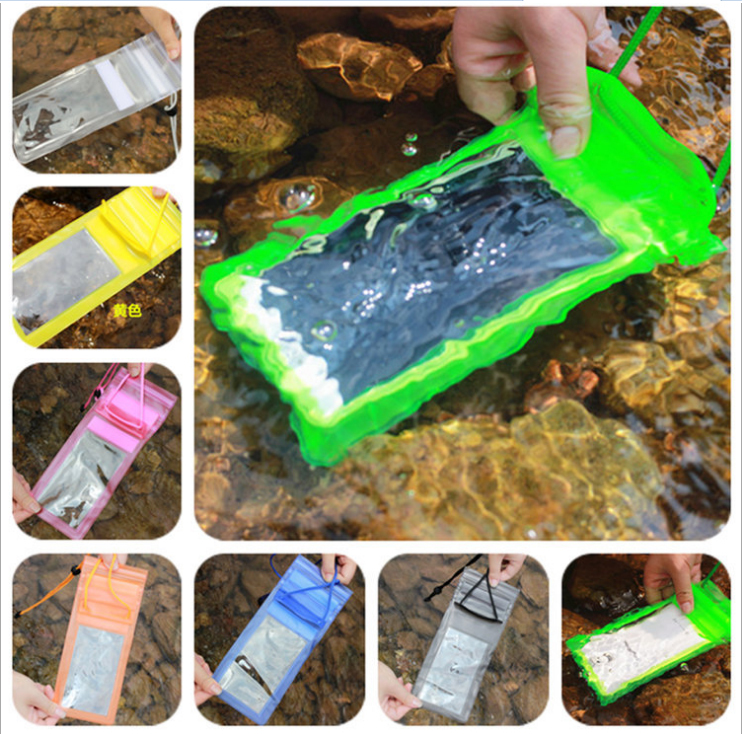 PVC Waterproof Bag Underwater Phone Cases Dry For Iphone 4S/5S/ Xiaomi Lenovo Plus For Samsung GALAXY Note Case 100% sealed J01(China (Mainland))