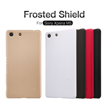 Buy Case Sony Xperia M5 NILLKIN Super Frosted Shield hard back cover Sony Xperia M5 screen protector Retail package for $7.19 in AliExpress store