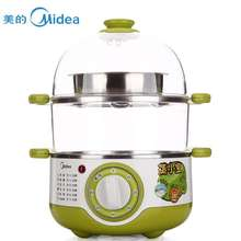 400W green 3L large capacity Double Electric Food Steamers(China (Mainland))