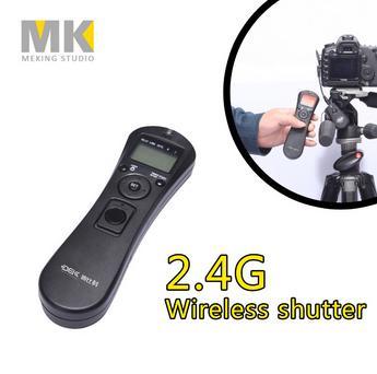 DBK WX-3101 2.4G wireless timer remote control shutter release for Canon Pentax Samsung Contax 60D 700D 650D 600D 550D G10 G12(China (Mainland))