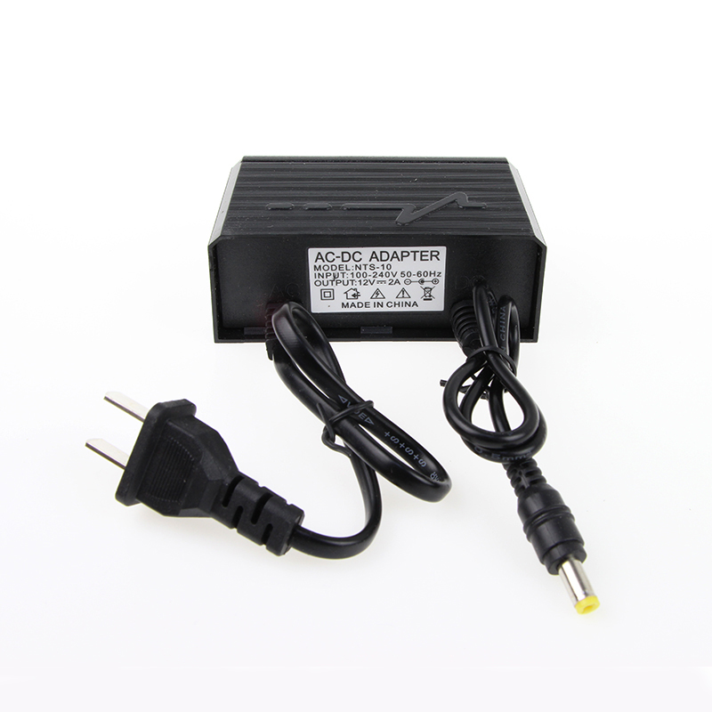 Juantec 12V 2A Power Supply Adapter for CCTV Camera IP Camera and DVR NVR