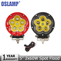 Oslamp 60W CREE Chips Offroad LED Driving Light Headlight Combo Beam Car Auto Led Work Light